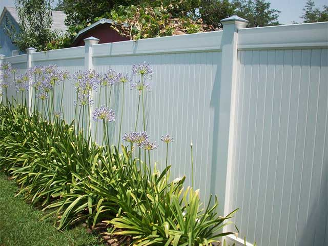 Vinyl Privacy Fence Design Ideas, Pictures | Vinyl Concepts