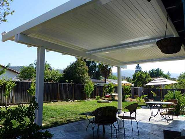 Vinyl Adjustable Patio Cover Design Ideas Pictures