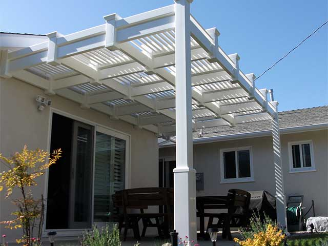 Photo 03 - Louvered ... - Vinyl Louvered Patio Cover Design Ideas, Pictures Vinyl Concepts