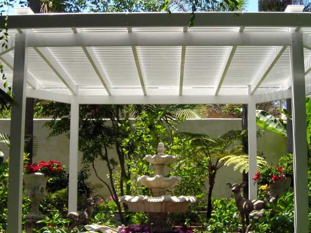 Vinyl Picket Patio Cover Design Ideas Pictures Vinyl