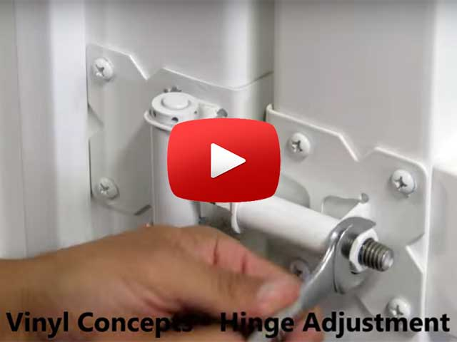 Video: Adjust Hinge