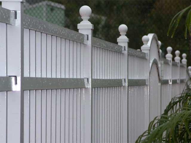 Photo 01 - Aluminum Fence